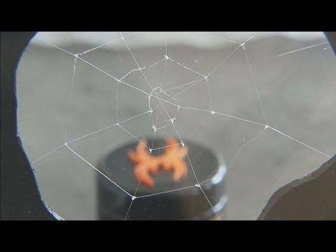 حرير اصطناعي متين كحرير العنكبوت – science23-4-2015