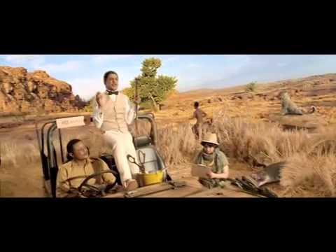 Shahrukh Khan in Dish TV new ad - Wildlife Sa...