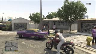 GTA 5 DOING A DRIVE BY ON A RIVAL GANG AND FAILING! (EPIC FAIL)