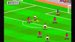 FIFA 95 review for the Megadrive Review