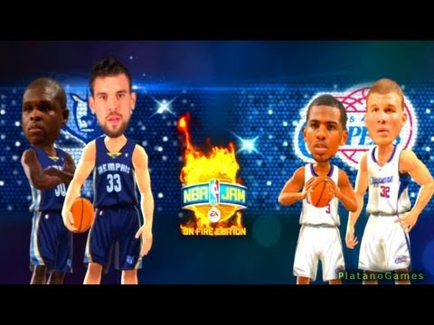 NBA Playoffs 2013 - Los Angeles Clippers vs Memphis Grizzlies - Game 1 - 1st Half - NBA Jam '13 - HD