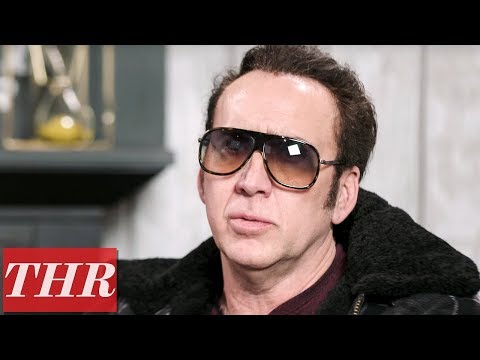 How Nicolas Cage Switched From Murderous Cult Leader To Tragic Avenger For 'Mandy' | Sundance 2018