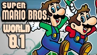 Super Mario Bros. World 1 - The Adventure Begins Here! w/Facecam (2 Player)