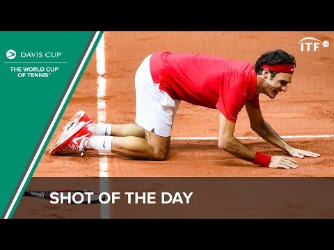 Shot of the Day: Switzerland wins the Davis Cup