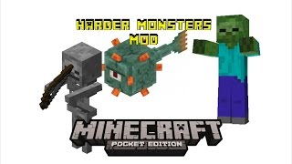Harder Mobs Mod | Minecraft Pocket Edition Addon