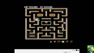 redo. Ms. Pac-Man [Orange start] (Commodore 64 Emulated) 1983  ATARI ATARISOFT