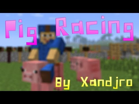 Minecraft Pig Racing Track By @Xandjro HD Download