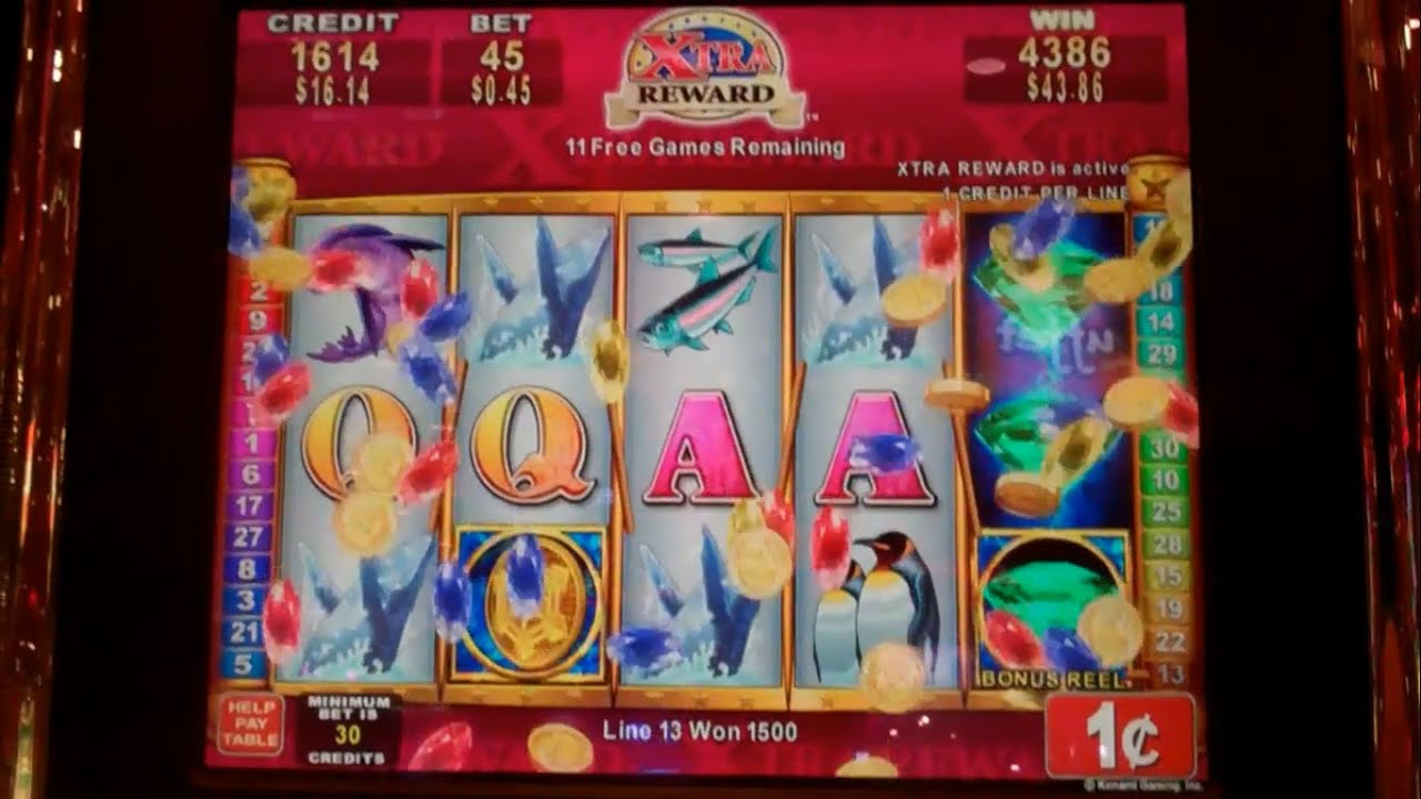 xtra reward slot machine