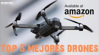 Top 5 mejores Drones  disponibles en Amazon 2018