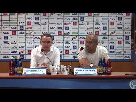 Tisková konference hostujícího trenéra po utkání Teplice - Brno (13.5.2018)