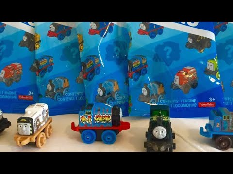 Thomas and Friends 2016/1 Wave 5 Minis Blind Bags Part 2