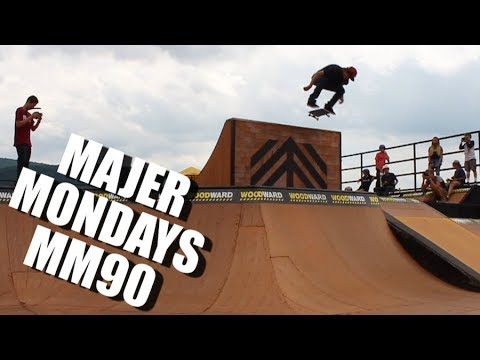 NEW YORK SKATEBOARDING and WOODWARD EAST Montage MM90