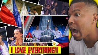 SEA Games 2019 Opening Ceremony Finale - SIMPLY AMAZING!| REACTION