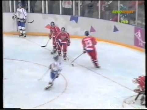 Olympic Games 1994  02.12 PR Finland- Czech republic