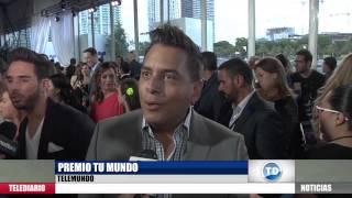 Entrevistas en Premios Tu Mundo: Lo que no salió en TV