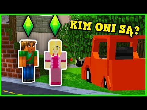 NOWI MIESZKAŃCY W MIEŚCIE!!! (Minecraft Sims)