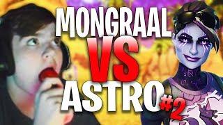 Secret Mongraal 1 VS 1 Atlantis Astro #2   Fortnite Highlights