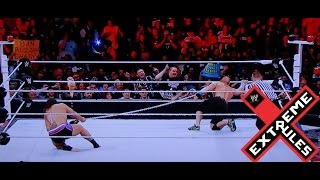 WWE Extreme Rules 2015 Russian Chain Match John Cena vs. Rusev FULL MATCH REVIEW