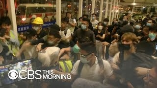 Photos show Chinese troop buildup amid Hong Kong protests
