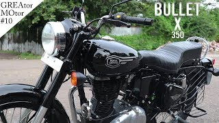 Royal Enfiled Bullet X 350 ABS Full Review [GTMO#10] ~2019
