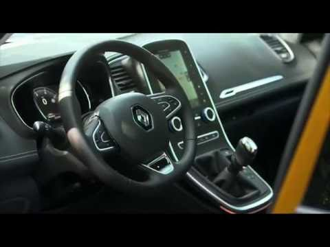 2016 New Renault SCENIC Interior Design Trailer