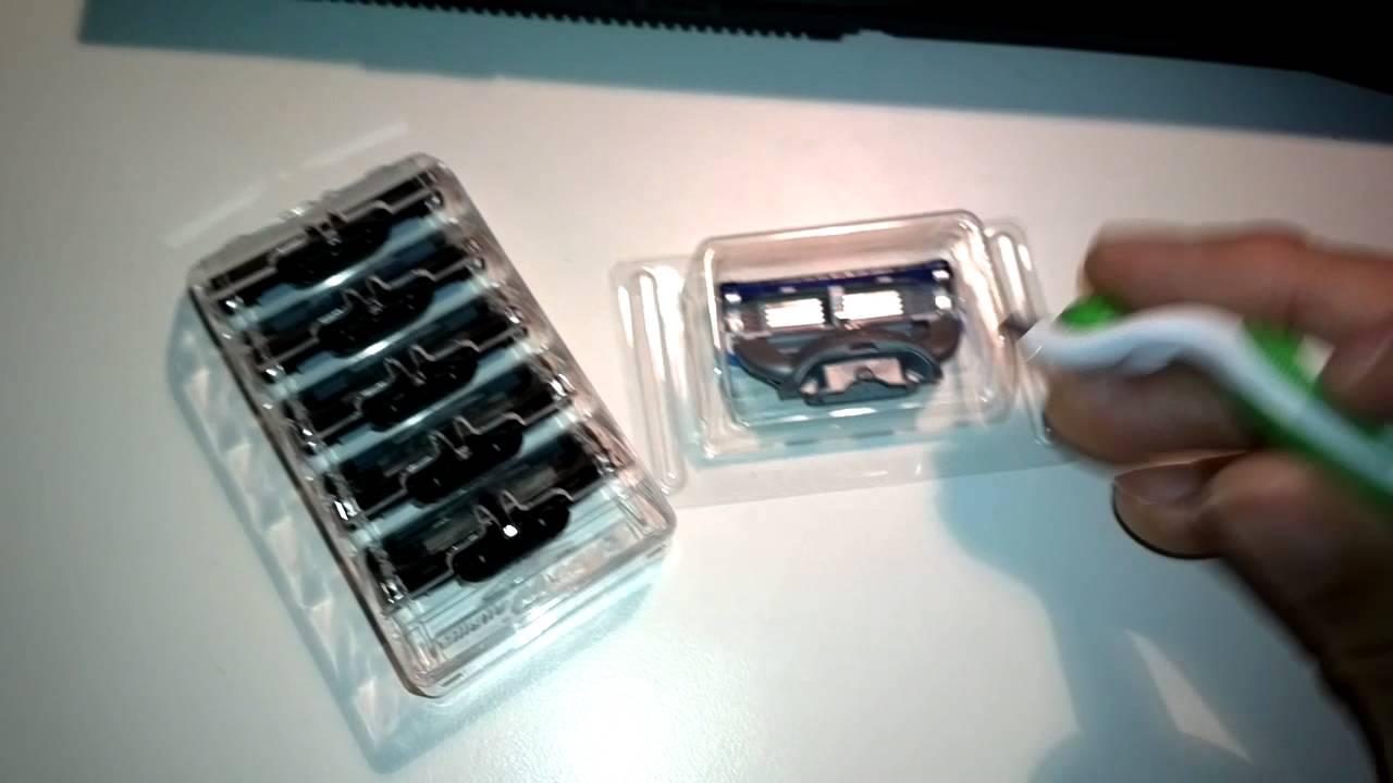 Gillete Mach 3 And Fusion Proglide Razor Cartridge