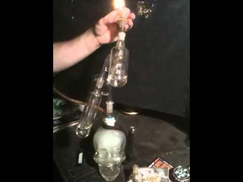 Crystal Skull Bong Crystal Skull Bong Pt.3
