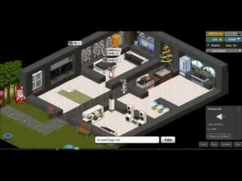 Como construir casa moderna en habbo youtube for Ideas para construir una casa moderna