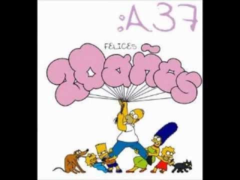 Homero Simpson feliz cumpleaños - YouTube