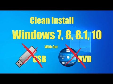 Tutorial : Clean Install Windows 8 from Partition in Hard disk drive