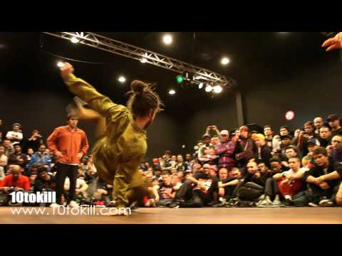 Lil Kev & Lil G Vs Kirill & Krit - RAW CIRCLES 2011 - 8Final - HD