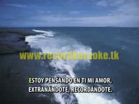 karaoke de agua marina