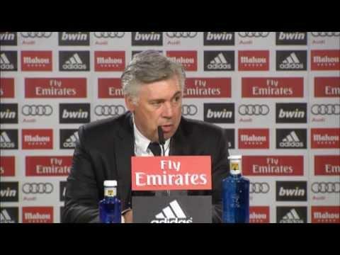 Carlo Ancelotti: Cristiano Ronaldo-Sperre
