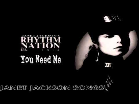 Janet Jackson - You Need me