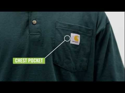 Video: Men's Short Sleeve Workwear Henley