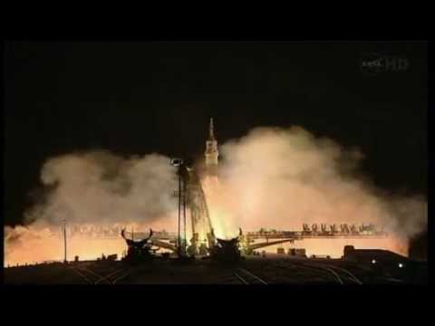 RUSSIA LAUNCHES SOYUZ MISSION TO ISS
