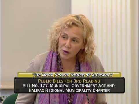 Bill No. 177 - Municipal Government Act and Halifax Regional Municipality Charter - May 19/16