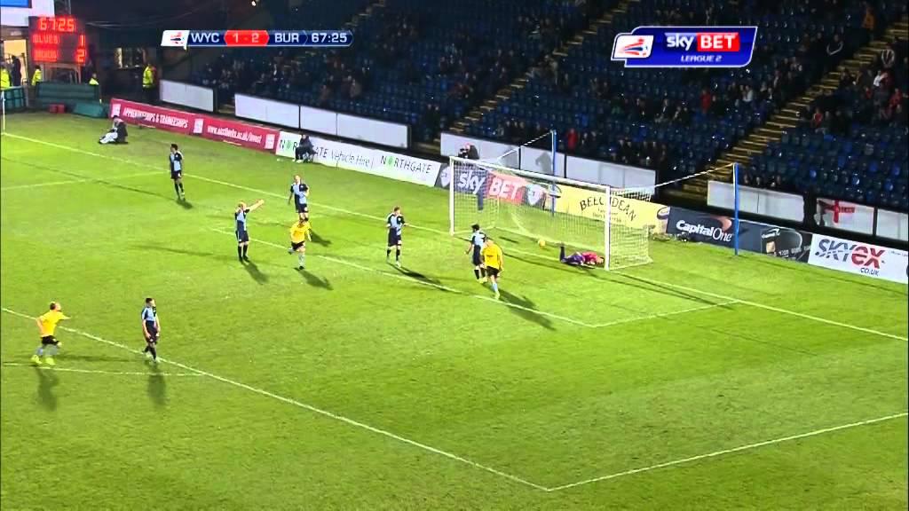 Wycombe Wanderers 1-3 Burton Albion