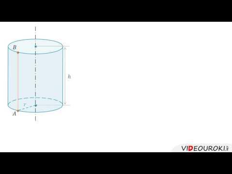 Видеоурок по математике Цилиндр