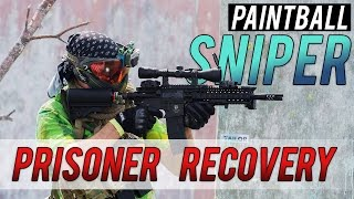 Paintball Sniper Prisoner Recovery - CS:GO IN REAL LIFE!