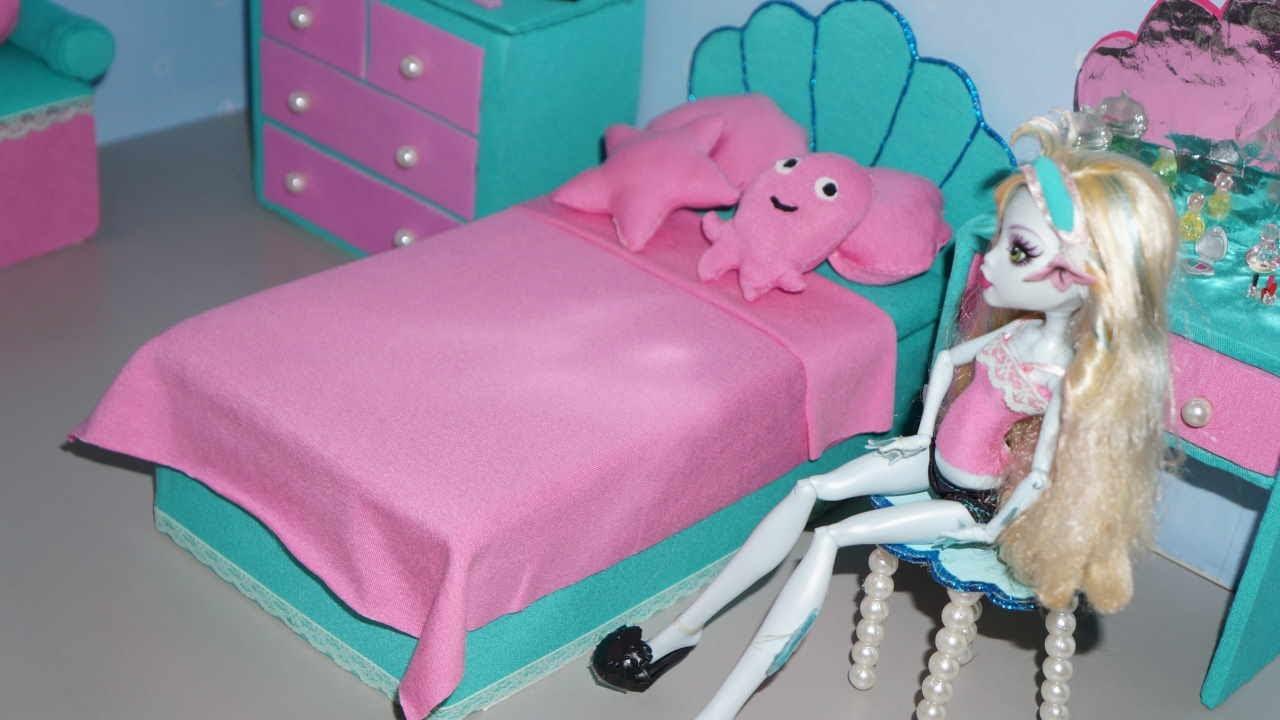 Кровати для кукол своими руками для монстер хай 95