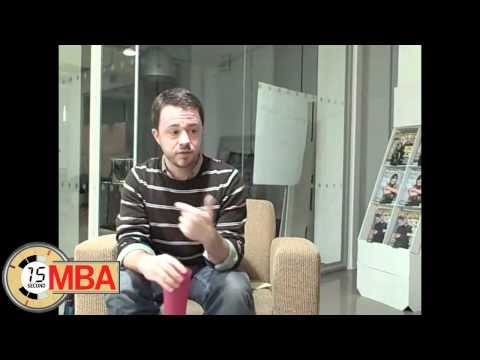 30 Second MBA: Porter Bayne, How do you deal with workplace anxiety and stress?