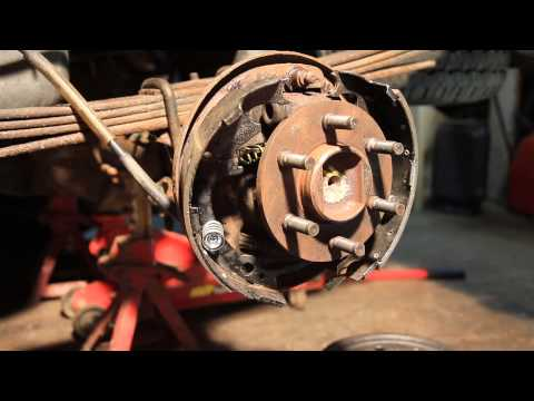 How to Drum Brake Installation 2002 Dodge Dakota