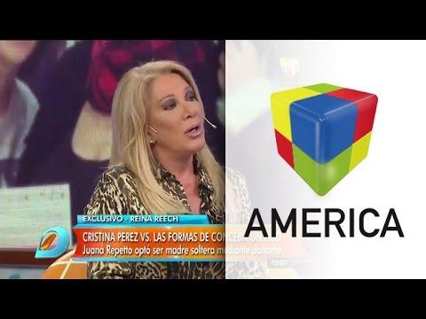 Reina Reech molesta por las declaraciones de Cristina Pérez