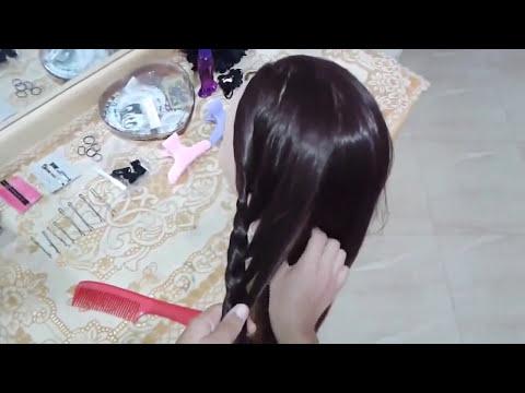 peinados faciles para niña con trenzas para cabello largo - rapidos y bonitos para escuela 2015