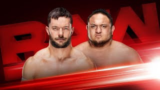 Finn Bálor and Samoa Joe reignite their rivalry tonight on Raw: Exclusive, Nov. 20, 2017