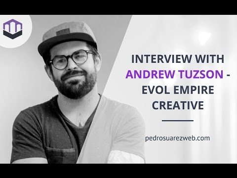Interview with Andrew Tuzson - Building outstanding Evo websites with Divi