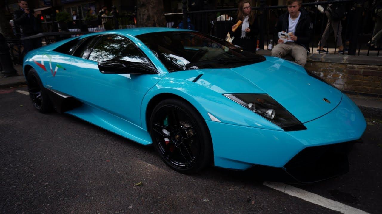 Turquoise Lamborghini Murci 233 Lago Lp670 4 Sv Youtube