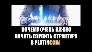 PlatinCoin Зачем строить структуры  В ПЛАТИНКОИН PLC GROUP...РЕКОМЕНДАЦИИ..