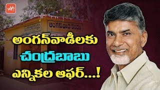 AP CM Chandrababu Election Offer to Anganwadi Teachers | AP Politics
